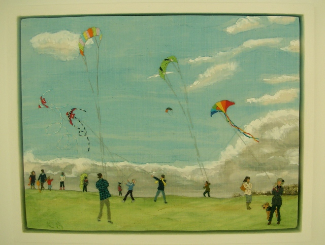 Kite Flying On Parliament Hill