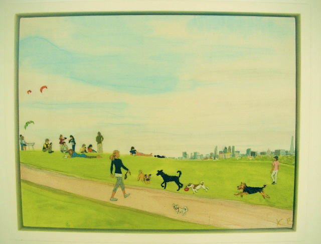 Dog Day on Primrose Hill