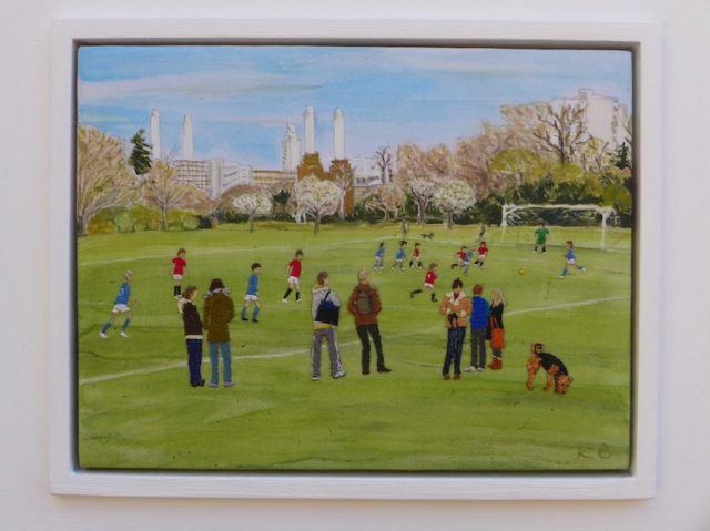The Beautiful Game in Battersea Park